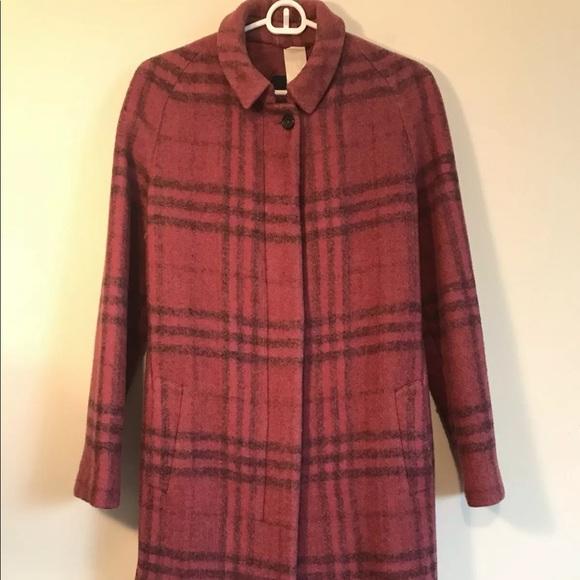 Burberry Prorsum Women's Wool Trench Coat Size 6